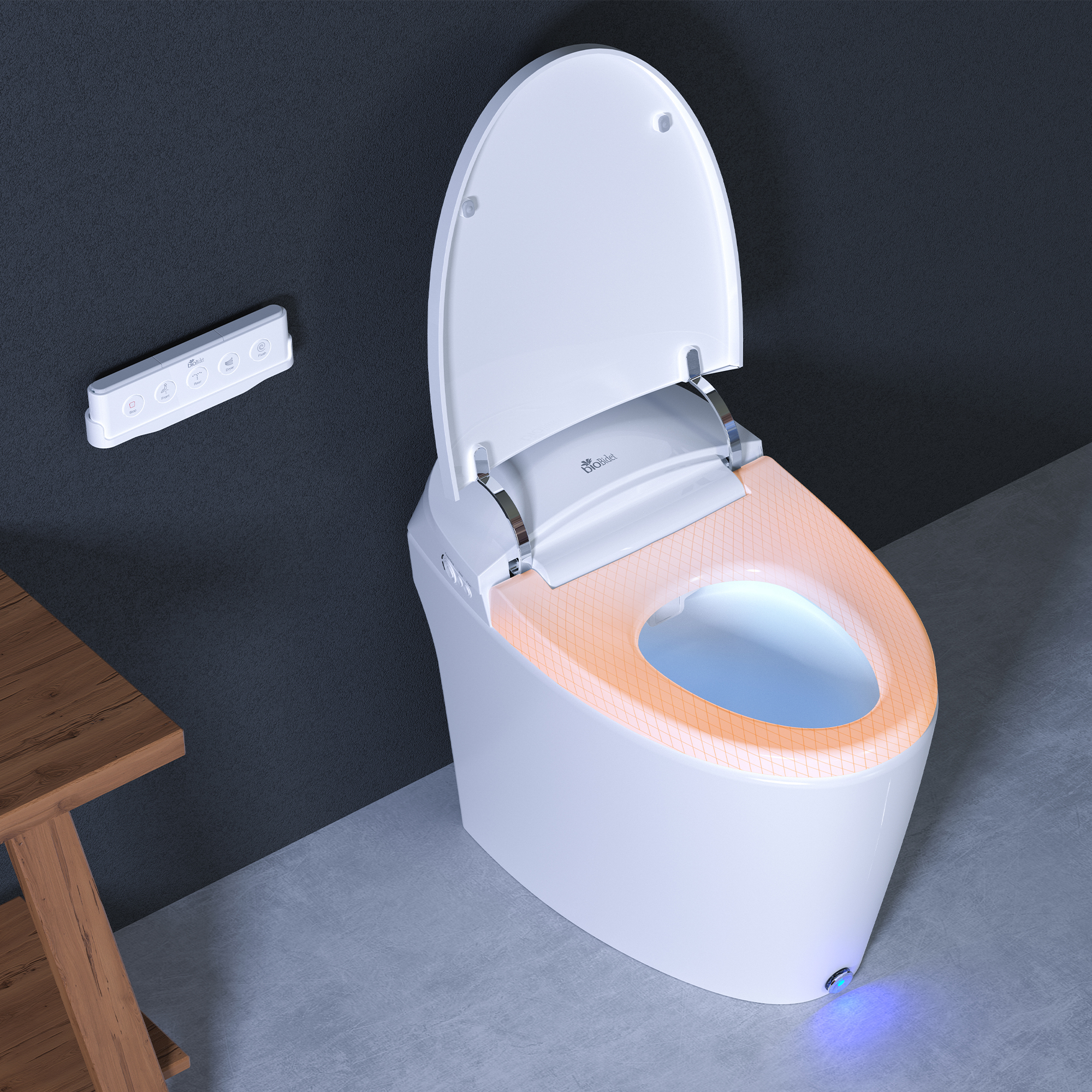 Discovery DLX Integrated Bidet Heated Seat