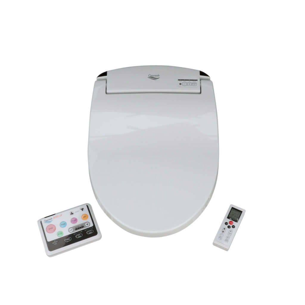 Cascade 3000 Electric Bidet Seat with Remotes
