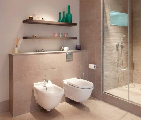 Bathroom with Classic Bidet